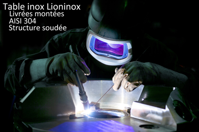 Table inox Lioninox
